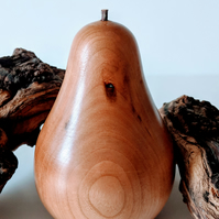 883 Wooden Pear made from American Cherry
