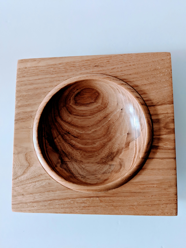 905 Wooden Square Edged Ash Platter
