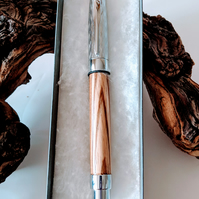311 Rollerball Pen made from Zebrano