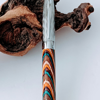 302 Roller Ball Pen made from Southwest Colour Grain Wood