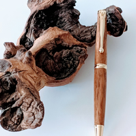 130 Ballpoint Pen made from English Brown Oak