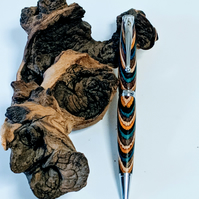 134 Ballpoint Pen made from Festival Colour Grain Wood
