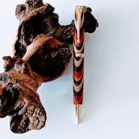 120 Ballpoint Pen made from Southwest Colour Grain Wood