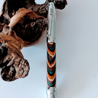 415 Fountain Pen made from Southwest Colour Grain Wood