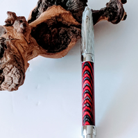 418 Fountain Pen made from Night Fire Colour Grain Wood