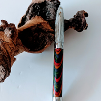 419 Fountain Pen made from Southwest Colour Grain Wood