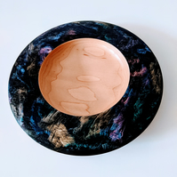 928 Maple Iridescent Platter