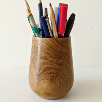 952 Pen & Pencil Pot made from  English Laburnum