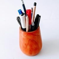 947 Pen & Pencil Pot made from Holly