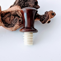 980  Wooden Wine Bottle Stopper made from Rosewood