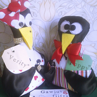 Quirky Novelty Pirate Penguin Craft or Desk Tidies