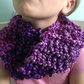 Infinity scarf (purple)