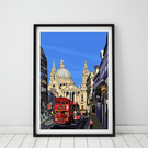 St Paul's Cathedral, London, A1 Art Print