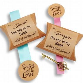 personalised valentines day gift key to my heart box key custom love