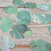 Monstera Leaves - Leaves - Green Leaf - Party Decoration - Die Cuts - Cutouts -