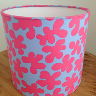 Kaffe Fasset Pink and Purple Fabric Lampshade