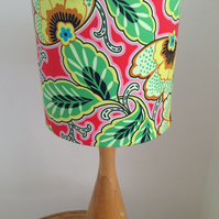 Multicoloured Handmade Drum Lampshade