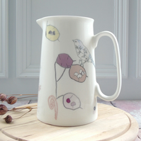 Bone China Honesty Design Serving Jug