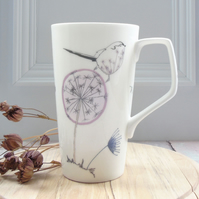 Bone china Latte Mug
