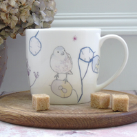 Chaffinch Fine Bone China mug