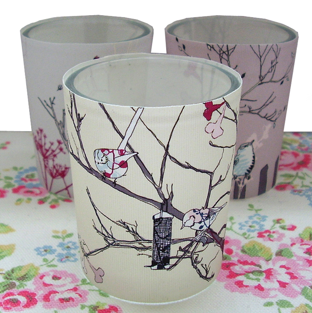 'littlebirdy' tealight holders