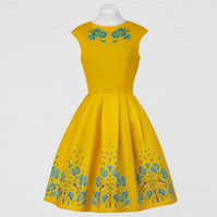 Swallow 60`s style dress