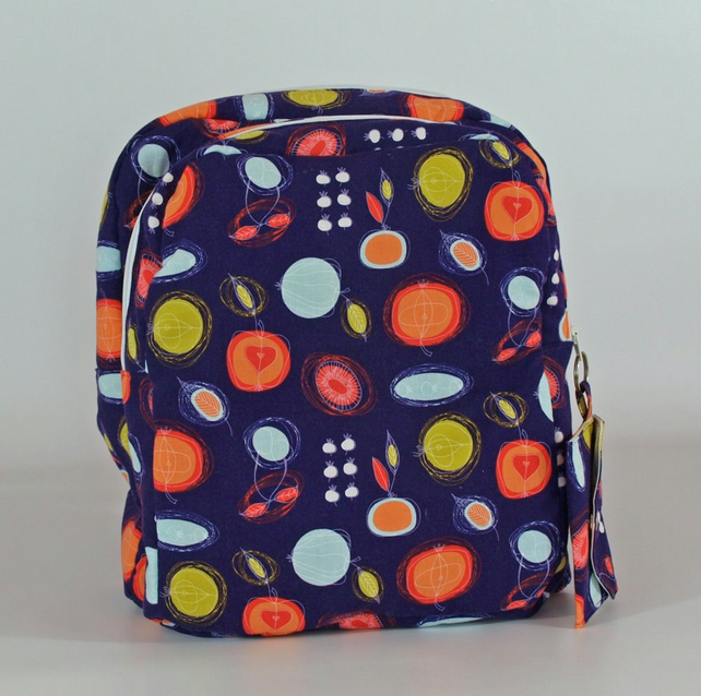 Backpack, rucksack, school bag, college, back to school, retro, free UK p&p