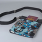 Cross body bag, shoulder bag, festival, travel, retro, floral, free UK p&p