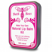 Make Your Own Lip Balm Kit - 100% Natural