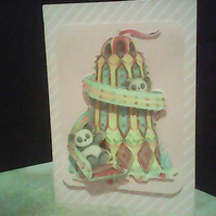 DOWN THE HELTER-SKELTER  CARD