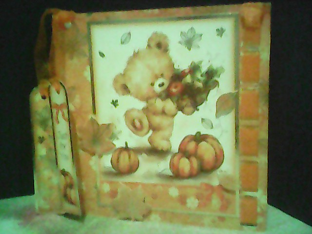 CHEERFUL TEDDY CARD