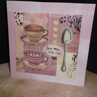 TIME FOR TEA CARD