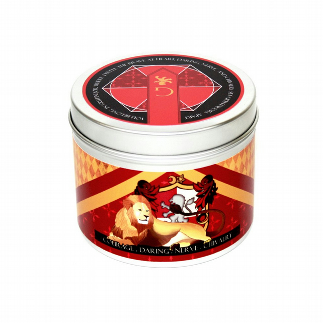 Gryffindor house pride harry potter inspired scented candle gryffindor candle