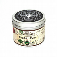 Polyjuice potion scented candle - bookish harry potter inspired scented candle