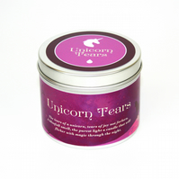 Unicorn tears scented candle unicorn gift folklore fantasy unicorns magical gift