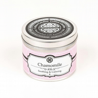 Chamomile essential oil aromatherapy candle luxury Chamomil spa candle yoga gift