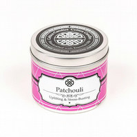 Patchouli essential oil aromatherapy candle stimulating Patchouli spa candle