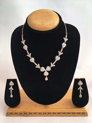 Bridesmaid jewelry set, Necklace set, Pendant set, Bridal Jewelry Set