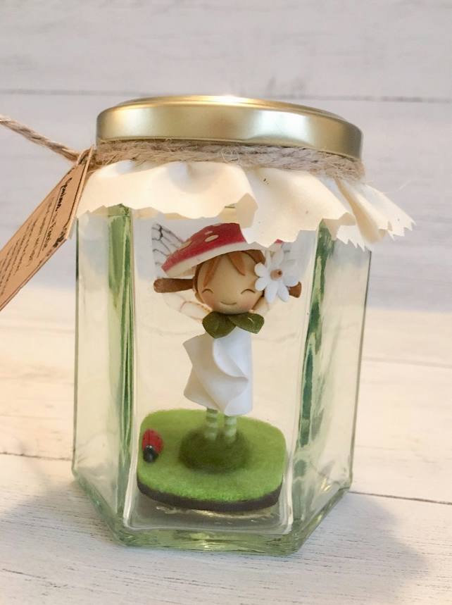 Jemima the Forest Fairy (Personalised Fairy in a jar)