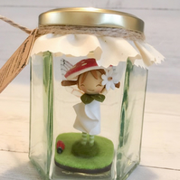 Jemima the Forest Faerie (Personalised Fairy in a jar)