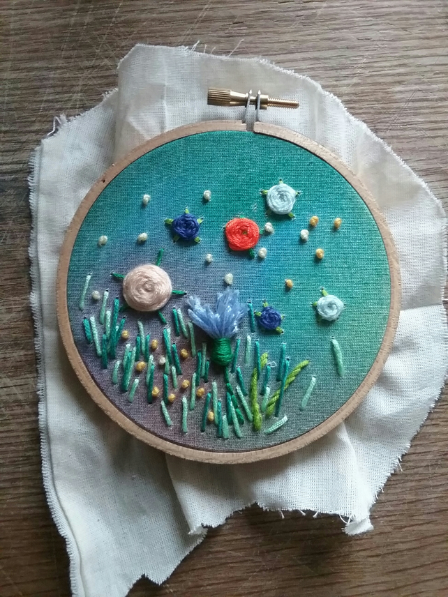 Twilight Garden Embroidery