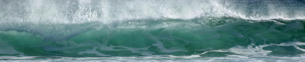 Blue Green Sea