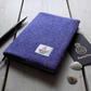 A6 Harris Tweed covered 2020 diary in lavender purple