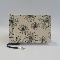 "Small Notebook, ""Love-in-a-Mist"", Cream"