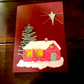 Christmas Cottage in Starlight Card