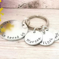 Personalised Mum Keyring - Custom Mummy Gift - This Mum Belongs To