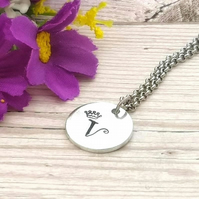 Personalised Children's Necklace - Initial Jewellery - Girl Stocking Filler