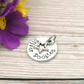 Silver Boobies Booby Award Charm - Add-on Charms For Keyrings And Necklaces