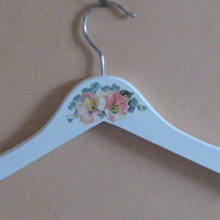 Decorated hanger for early teen or child