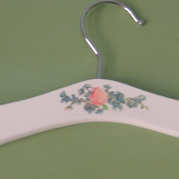Floral baby clothes hanger